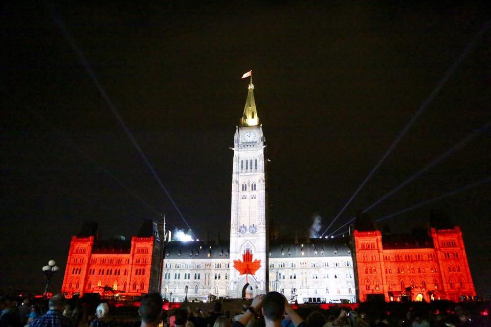 The Parliament Hill, Ottawa